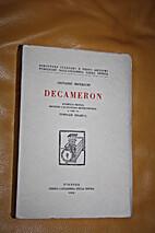 DECAMERON by G. Boccaccio