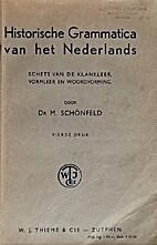 Historische grammatica van het Nederlands…