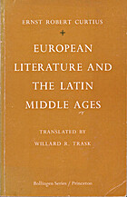 European Literature and the Latin Middle…