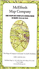 The Maps of Company Commander Europe 1944 &…