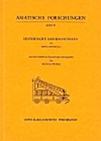 Historische Mandschutexte by Erich Haenisch