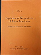 Psychosocial Perspectives of Asian Americans…