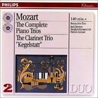 Clarinet Trio 'Kegelstat' by Mozart