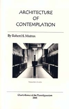 Architecture of Contemplation by Robert H.…