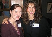 Author photo. Rachel Vater (left) with author K.Z. Perry<br> at the Science Fiction Writers of America <br>annual reception in New York City, 2006<br>Copyright © 2006 <a href=&quot;http://ronhogan.tumblr.com&quot;>Ron Hogan</a>