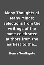 Many Thoughts of Many Minds; selections from…