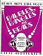 1980 Beaux Arts Ball Baubles, Bangles and…
