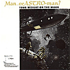 Your Weight on the Moon EP by Man or…