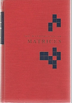 The mathematics of matrices; a first book of…