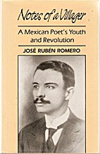 Notes of a Villager by Jose Ruben Romero