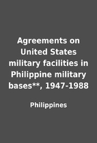 Agreements on United States military…