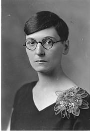 Author photo. Unidentified photographer; image from the Smithsonian Institution Archives