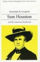 Sam houston and the american southwest thesis