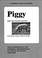 Piggy by Mrs. Walter Buchanan