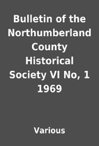 Bulletin of the Northumberland County…