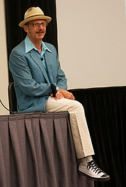 Author photo. Dan Piraro at the 2012 Comic-Con [credit: Ewen Roberts]