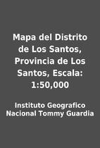 Mapa del Distrito de Los Santos, Provincia…