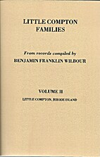 Little Compton Families-Vol. 2 by Benjamin…