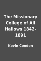 The Missionary College of All Hallows…
