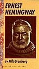 Ernest Hemingway by Nils Granberg
