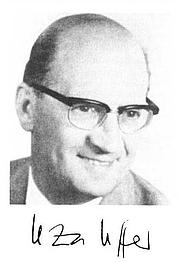 Author photo. Leza M. Uffer (1912-1982)