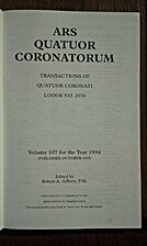 ARS Quatuor Coronatorum: Transactions of…