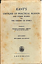 Critique of practical reason and other works…