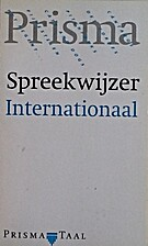 Spreekwijzer internationaal by Riemer…