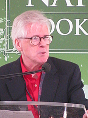 """Author photo. Thomas Mallon at the 2012 National Book Festival By Slowking4 - Own work, GFDL 1.2, <a href=""""https://commons.wikimedia.org/w/index.php?curid=21582370"""" rel=""""nofollow"""" target=""""_top"""">https://commons.wikimedia.org/w/index.php?curid=21582370</a>"""