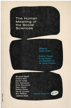 The human meaning of the social sciences by…