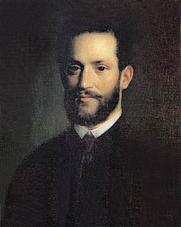 Author photo. Portrait of Arminius Vámbéry, by Mihály Kovács, 1861