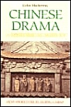 Chinese drama: A historical survey by Colin…