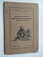 Men Who Served in the 24th Machine Gun…