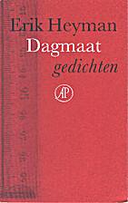 Dagmaat : gedichten by Erik Heyman