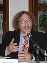 Author photo. Boudewijn Bouckaert (1947-) photograph by bartvs, Antwerpen, May 18th, 2005.