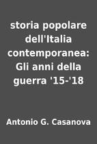 storia popolare dell'Italia contemporanea:…