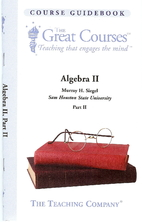 Algebra II [The Great Courses] by Murray H.…