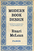 Modern book design from William Morris to…