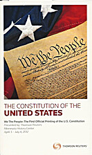 The Constitution of the United States. First…