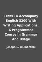 Tests To Accompany English 3200 With Writing…