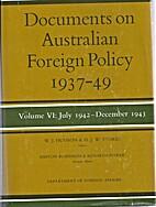 (aust) Documents on Australian Foreign…
