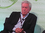 """Author photo. Mario Vargas Llosa at the 2012 National Book Festival By Slowking4 - Own work, GFDL 1.2, <a href=""""https://commons.wikimedia.org/w/index.php?curid=21582334"""" rel=""""nofollow"""" target=""""_top"""">https://commons.wikimedia.org/w/index.php?curid=21582334</a>"""