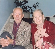 Author photo. Timothy d'Arch Smith with Jean Overton Fuller