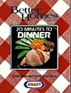 Better Homes and Gardens 20 Minutes To…