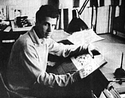 Author photo. Image of artist. photo credit 'Squa Tront' No.1 - Sept. 1967
