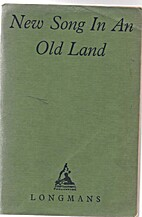 New Song In An Old Land - Australian Verse…
