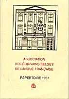 Association des Ecrivains Belges de Langue…