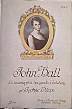 John Hall, vol. 1 by Sophie Elkan