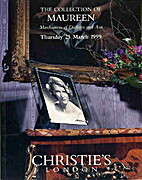 1999 Christie's London The Collection of…