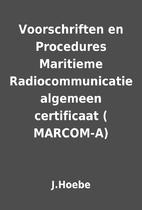 Voorschriften en Procedures Maritieme…